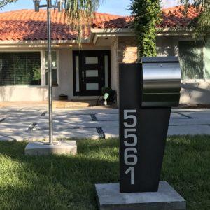 Tucker Modern Curbside Mailbox